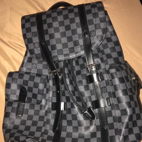 8ff2184e021d Louis Vuitton Handbags - Louis Vuitton men s Christopher Damier Backpack